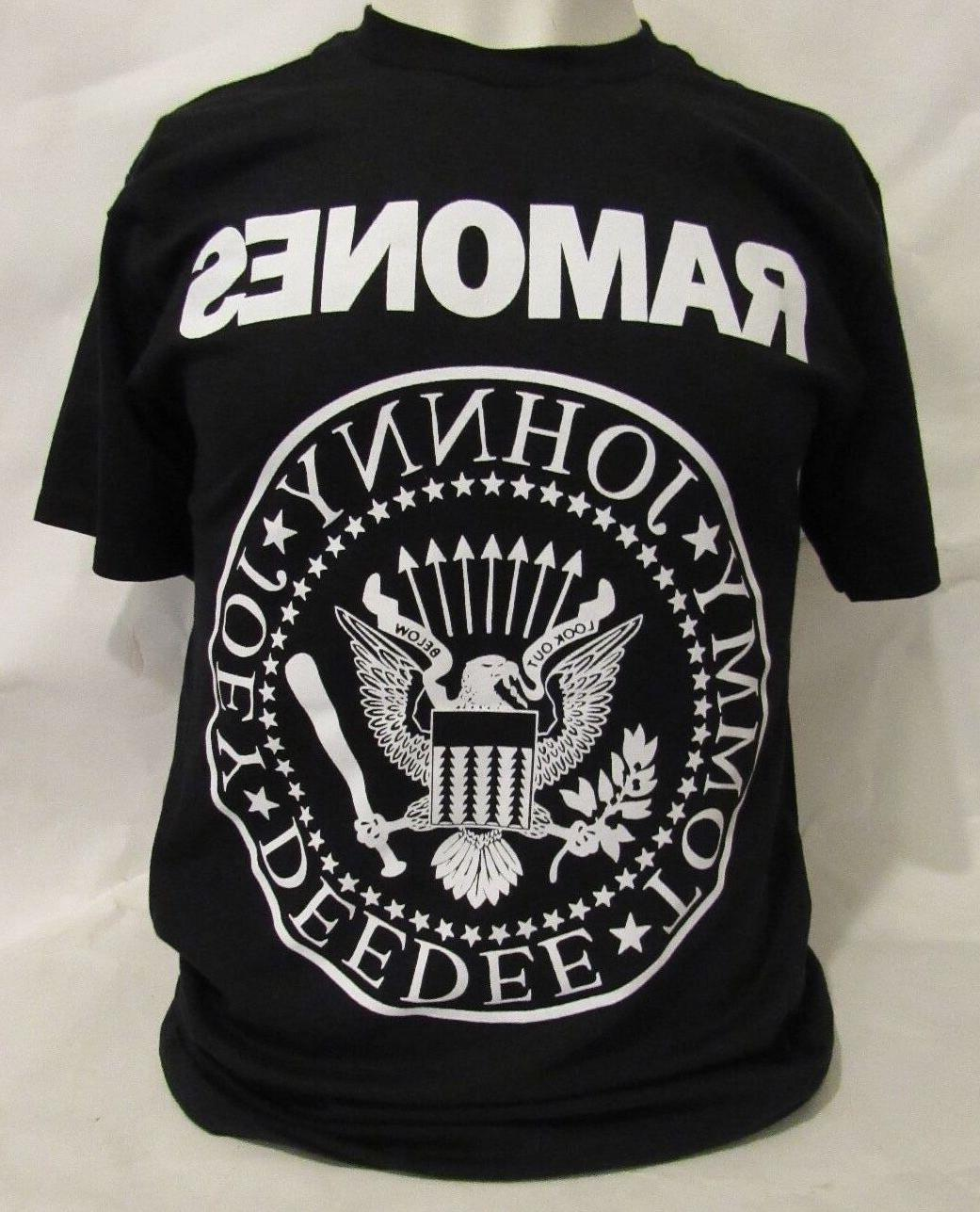 ramones rock band t shirts logo