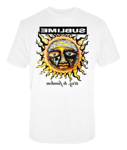 sublime freedom t shirt