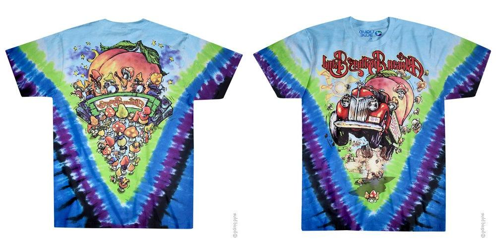 the allman brothers band tie dye t