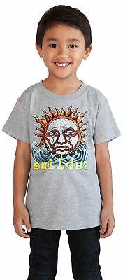 Toddler Baby Boys Sublime Rock Band T-Shirt - Gray