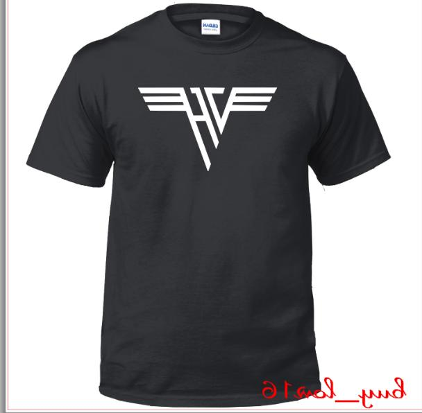 Van Halen Rock Band Vinyl Logo T-shirt