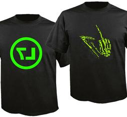 L7 Band Logo New Black Custom T-Shirt T Shirt Men's
