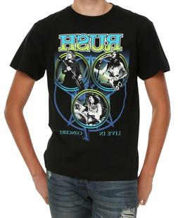 live in concert t shirt rock band