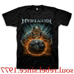 MEGADETH HEAVY METAL PUNK ROCK BAND T SHIRT MEN'S SIZES