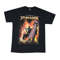 MEGADETH Heavy Metal Rock Band Men's T- Shirt Black