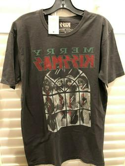Lucky Brand Men's Shirt MEDIUM NWT Kiss Kissmas Christmas Ho