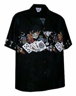 Pacific Legend Mens S to 4X Royal Flush Hot Dice Vegas Style