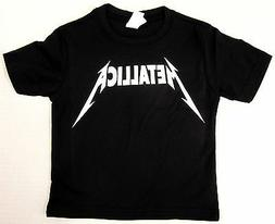 METALLICA Baby Infant T-shirt Heavy Metal Rock Band Tee 6M,1