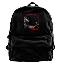MJCoulombe Metallica Kill Em All Novelty Bag Drawstring Back