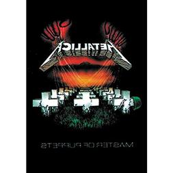 Metallica Master Of Puppets Tapestry Cloth Poster Flag Wall