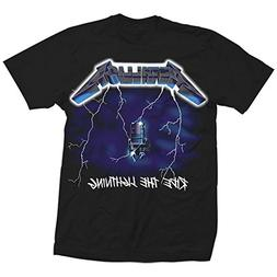 Metallica Men's Ride The Lightning T-Shirt XXX-Large Black
