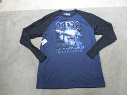 NEW ACDC About To Rock Concert Shirt Adult Extra Large Blue