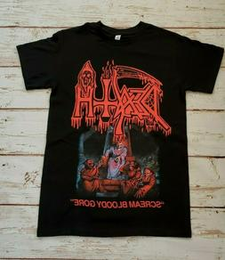 "NEW - DEATH - ""SCREAM BLOODY GORE"" -  BAND T-SHIRT"