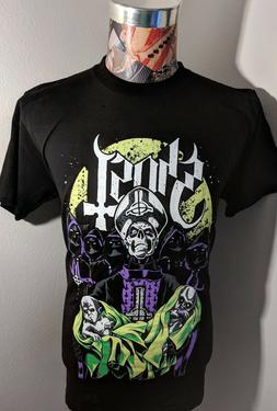 NEW GHOST SWEDISH ROCK BAND GREEN PURPLE PAPA EMERITUS BABIE