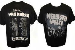 """NEW Green Day """"Tour 2010"""" Adult MENS Sizes M-2XL Band Concer"""