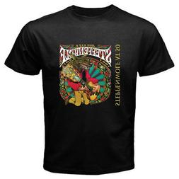 New Steppenwolf Band At 50 John Kay Logo Men's Black T-Shirt