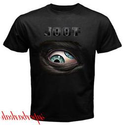 New TOOL Metal Band Logo Tour Concert Men's Black T-Shirt Si