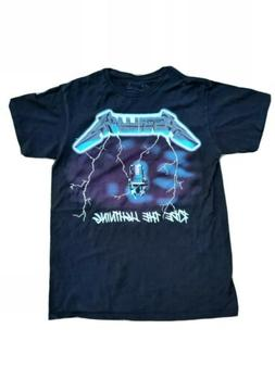 New Without Tags Metallica Mens T shirt Ride the Lightning S