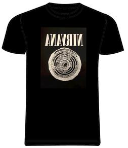 NIRVANA BLK ROCK BAND T SHIRT  TEE YOUTH S - ADULT 3XL T BLK