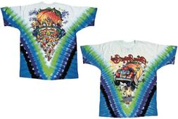 Official Allman Brothers Band - Mushroom Express Tie-Dye Adu