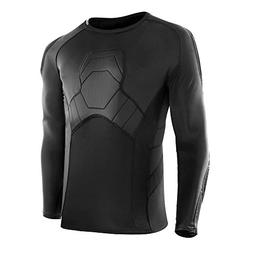 FavorGear Padded Compression Shirt Rid Protector for Footbal