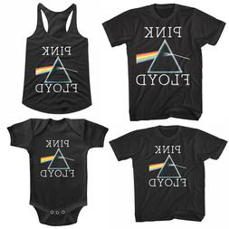 Pink Floyd Dark Side of the Moon Prism Family T Shirt Set Ro