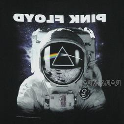 pink floyd t shirt spaceman rainbow triangle