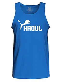 Gs-eagle Men's Printed Lion of Judah Graphic Tank Top Miduem