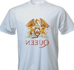 Queen Freddie Mercury CLASSIC LOGO BAND T SHIRT FOREVER QUEE