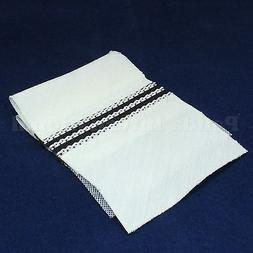 Ready to Sew On Tailored Waistband for Trousers with Rubber