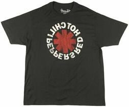RED HOT CHILI PEPPERS BAND T-SHIRT MENS ROCK MUSIC TEES RHCP