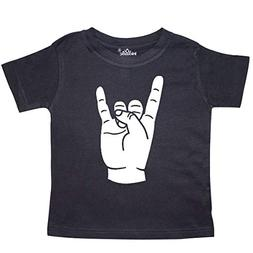 inktastic - Rocker Horns! Toddler T-Shirt 5/6 Black 18b1e