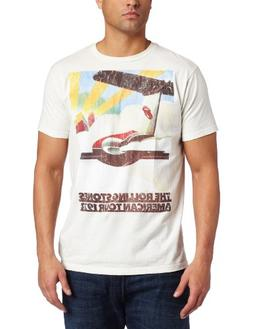 Bravado Men's The Rolling Stones 1972 Plane Tour T-Shirt, Wh