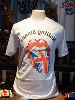 rolling stones union jack distressed tongue men