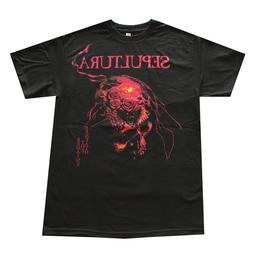 SEPULTURA Metal Rock Band Men's T- Shirt Black