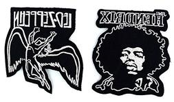 Set_ROCK008 - Jimi Hendrix Patch and Led Zeppelin Patch, 2 P