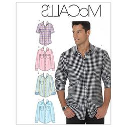 McCall's Pattern Men's Shirts,