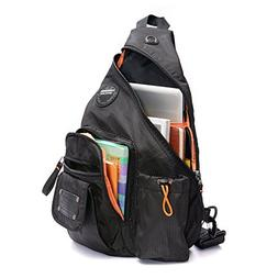 DDDH 13.3-Inch Sling Bag Riding Hiking Bag Single Shoulder B