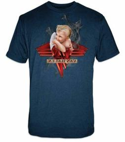 Van Halen Smoking Baby Angel T-Shirt Classic Rock Music Band