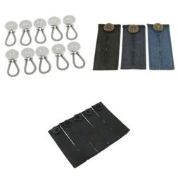 Stretchy Jeans Pants Waist Extender Trousers Buttons Expande