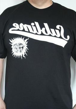 Sublime T-shirt Punk Band BLACK & White