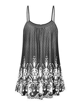 Hawa eye Summer Tops for Women, Woman Loose Fit Sleeveless S