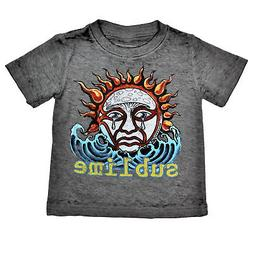 Sublime Sun Burnout Toddler Baby Rock Band Boys Graphic T-Sh