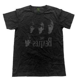 The Beatles T Shirt Faces band logo Official Mens Vintage Fi