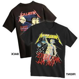 METALLICA T-Shirt Justice For All New Authentic Rock Metal T