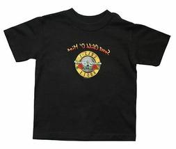 GUNS N ROSES T-Shirt Sweet Child Of Mine Bullet Logo Toddler