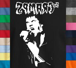 THE CRAMPS T-Shirt Lux Interior Vintage Retro Logo Psycobill