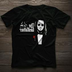 The Gedfather Geddy Lee Rush band Black T-Shirt