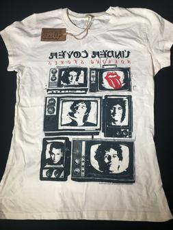 The ROLLING STONES Band T-Shirt Under Cover Distressed Women