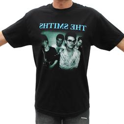 the smiths blue logo rock band graphic